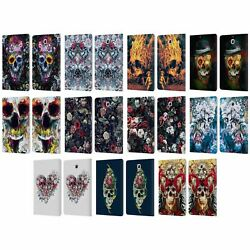 Official Riza Peker Skulls 9 Leather Book Wallet Case For Samsung Galaxy Tablets