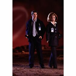 Barbie And Ken As Agent's Scully And Mulder X-files Giftset 1998 Barbie Doll