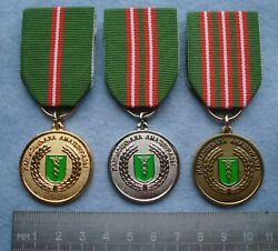Award Medal Customs Service Republic Of Abkhazia 3 Degrees Of Excellent Work