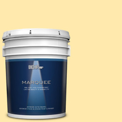 5 Gal. P290-2 Sweet As Honey Satin Enamel Interior Paint And R In One