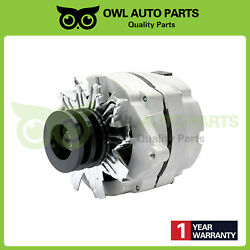 Alternator Tractor Chevy 10si 1-wire One Wire 2 Groove Pulley 63amp 12v Adr0183