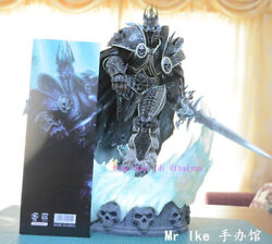 Perfect World Of Warcraft Lich King Arthas Polystone Statue Model Toy In Stock