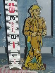 1940's Marx Soldiers Of Fortune - Infantry Private Foot Soldier Tin Litho