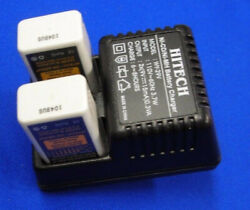 Hitech Battery Charger Wy-29v 9v Nicad And Nmh 2 Slot Sold In Bundle Of 10 Each