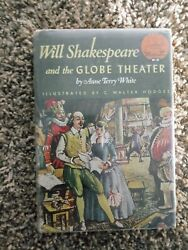 Will Shakespeare And The Global Theater By Anne Terry White World Landmark Books