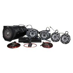 Ssv Works 5 Speaker Plug-and-play Kicker Kit Ride Command Systems