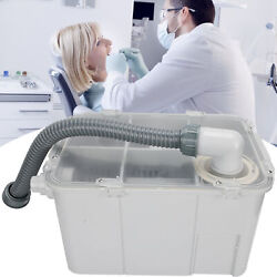 Dental Plaster Powder Trap Filter Water Separator For Dental Office And Laboratory