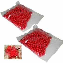 Shop4Paintball BLOOD BALL .68 Caliber Paintballs Red Red Bag of 1000 $24.95