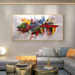 Wall Art For Home Decoration Hand Painted Oil Paintings On Canvas Handmade Large