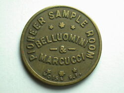 Jackson Ca Pioneer Sample Room 10andcent Token