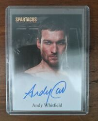 Rare 2009 Spartacus Blood And Sand Andy Whitfield Autograph Imaculate