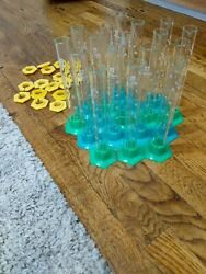 Lot Of 17 - Sibata Glass Student Graduated Cylinders, 50ml Excellent