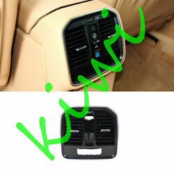 Central Handrail Box Back A/c Outlet Abs Chromed For Porsche Macan 2014-2017