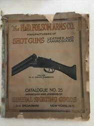 H And D Folsom Arms Co Catalog 25 Nyc Marbles Knives Winchester Colt