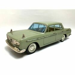 Toyopet Crown Deluxe Green Tin Toys Made In Japan