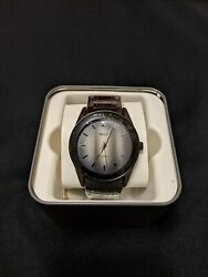 New Mens Relic By Fossil Watch | Black Color | Minimalist Design | Perfect Gift