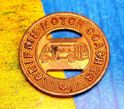 Griffin Motor Coaches Company Token Good For One Fare Bus Transit Coin