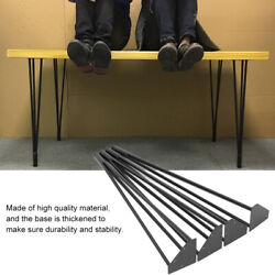 3 Robs Black Coffee Table Hairpin Legs 18 28 30 4pcs Cold Rolled Steel Bar
