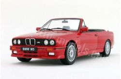 Otto Mobile Bmw M3 Coupe Cabrio E30 Red 118 Long Sold Outlast One