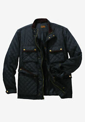 Boulder Creek By Kingsize Menand039s Big And Tall Quilted Jacket