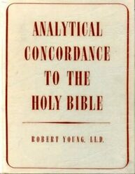 Young's Analytical Concordance Of The Bible Hardback Book The Fast Free Shipping