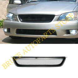 Mesh Grill Grille Fits P For Lexus Is Is200 Is300 Toyota Altezza 01-05 2001-2005
