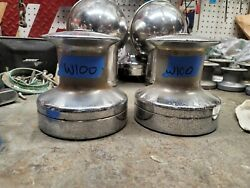 Pair Barient 25 Two Speed Winches