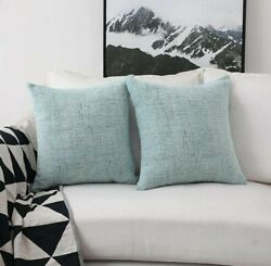 Home Brilliant Decorative Pillow Covers for Couch Throw Pillow Covers Sofa...