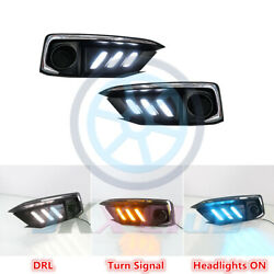 Mustang Style Led Drl Daytime Running Lights Signal P For Honda Civic 20192021