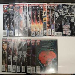 X-files Comics - Lot Of 21 - Three 1's, Three Signed, Numbers 2-8 And More...