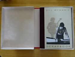 Rare Copy Of Bill Wymanand039s Scrapbook Signed Coffee Table Book Rolling Stones