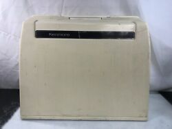 Kenmore Sewing Machine Sears 385.1264180 With Pedal And Portable Case