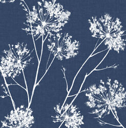 Peel And Stick Botanical Self Adhesive Removable Wallpaper- 20.5 W X 18' L Roll