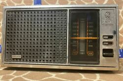 Vintage General Electric Fm/am Table Radio Model No 7-4115b - 1970and039s