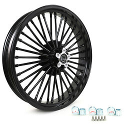 21 3.5 Front Cast Wheel Dual Disc Gloss Black For Dyna Fxdl Fxdb Fxd Fxdc Fxdf