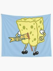 Welcome To The Shitshow Spongebob Tapestries Spongebob Wall Tapestry