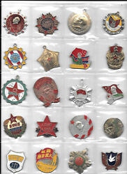 China Collection Of 20 Old Medals. 1t12