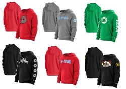 Nba Hoodie Sweater City Edition Fans Pullover Lakers Nuggets Rocketsceltics