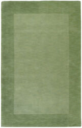 Surya Green 12 X 15 Wool Border Contemporary Area Rug - Approx 12and039 X 15and039