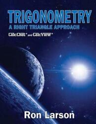Trigonometry A Right Triangle Approach By Charles Larson English Hardcover B