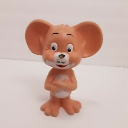 Vintage 8 Rubber Jerry Mouse Squeaker Toy Unbranded Missing Tail