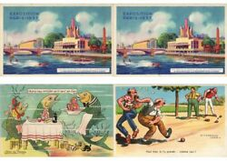 Fantasy Subjects Artist Signed 500 Vintage Postcards With Better L2995