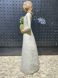 Willow Tree Hearth And Home 15 Inch Figure Susan Lordi Woman Pineapple 2002