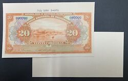 Nicaragua Proof Banknote P67a Front/back