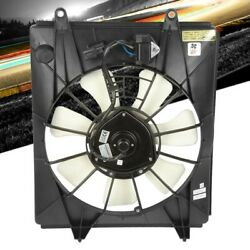 Bfc Abs Plastic Oe Style Ac Condenser Fan Assembly For 10-14 Honda Cr-v