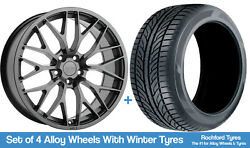 1form Winter Alloy Wheels And Snow Tyres 19 For Mini Clubman [f54] 15-18