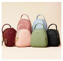 Fashion Leather Mini Backpacks Purse Women Lady Tote Multifunction Shoulder Bags $27.99
