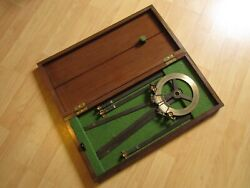 Ww Ii Imperial Japanese Navy - Compass / Surveying Protractor - Very Rare