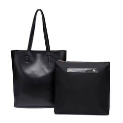 Leather Tote Bags For Women Shoulder Hand Bag For Work Causal Valentine#x27;s Gift $48.80