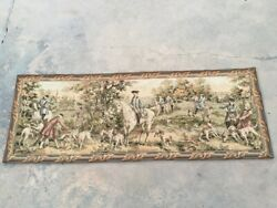Antique French Tapestry Romantic Wall Hanging Medieval Home Dandeacutecor Tapestry 7x2